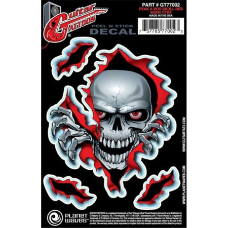 Planet Waves Gt77002 Gitar Sticker
